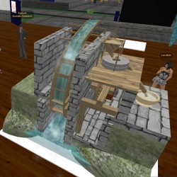 Water on The Tech Virtual Museum Workshop
