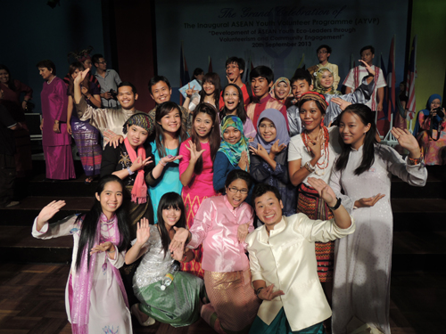 The many friendships made between youths from the ASEAN countries