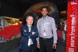 That's me hanging out with Prof Ngô!