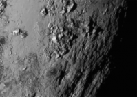 Ice Mountains on Pluto, perhaps even ice volcanoes?