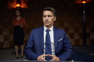 Olivier Martinez as Ed Grann, CEO of the Mars Mission Corporation in National Geographic Channels global miniseries event MARS. (photo credit: National Geographic Channels/Robert Viglasky)