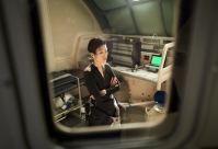 BUDAPEST - Production of the scripted portion of MARS. (photo credit: National Geographic Channels/Robert Viglasky)