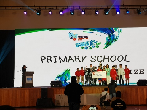 2nd Place Winners for Primary School Category: Kuo Chuan Presbyterian Primary School